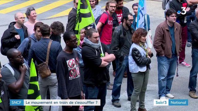 Grève SNCF : un mouvement qui s'essouffle ?