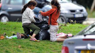 400 000 enfants vivent sous le seuil de pauvreté en France. (MAXPPP)