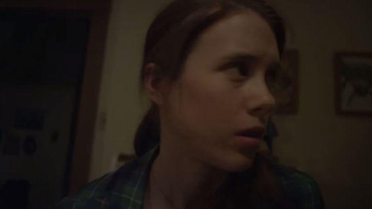 """Capture d'écran du film d'horreur """"Haunting Melissa"""", réalisé par le producteur du film """"Mulholland Drive"""" de David Lynch, et pensé pour les tablettes et smartphones. (YOUTUBE / FRANCETV INFO)"""
