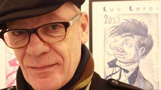 Jean-Claude Denis, auteur de Luc Leroi et président du 40ème Festival international de la BD d'Angoulême (janvier 2013)  (Francis Forget)