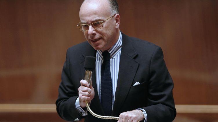 Bernard Cazeneuvelors des questions au gouvernement à l'Assemblée nationale, le 17 mars 2015. (FRANCOIS GUILLOT / AFP)