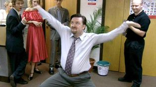 "Ricky Gervais, pathétique patron dans ""The Office"" (MyCanal)"