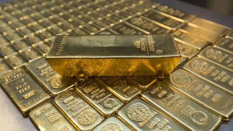 Des lingots d'or symboles de prospérité. (ULRICH BAUMGARTEN / ULRICH BAUMGARTEN)