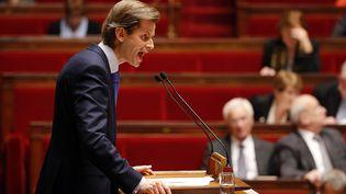 Le député LR Guillaume Larrivé, le 19 novembre 2015 à l'Assemblée nationale. (FRANCOIS GUILLOT / AFP)