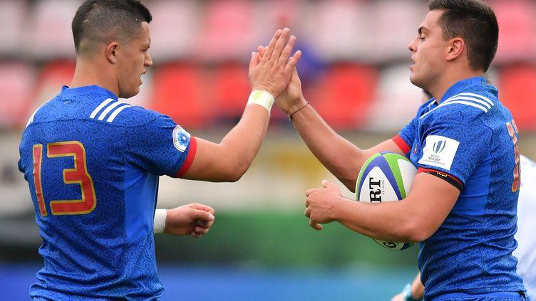 Les Bleus affrontent l'Afrique du Sud ce jeudi. (PASCAL GUYOT / AFP)