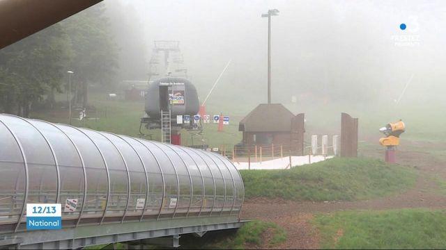 Auvergne : la station de ski du Lioran se prépare à l'arrivée des touristes