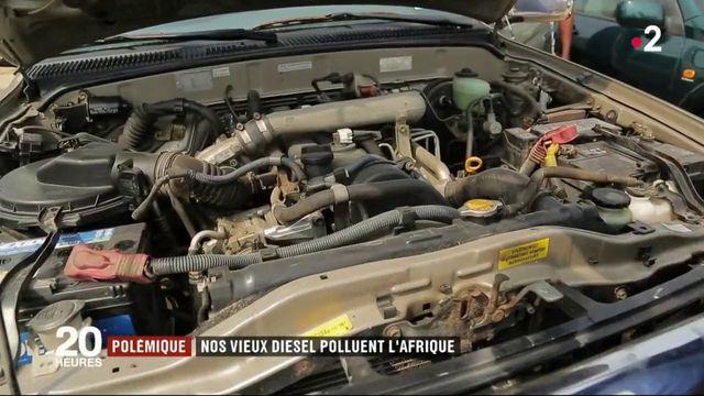 Environnement : nos vieux diesels polluent l'Afrique
