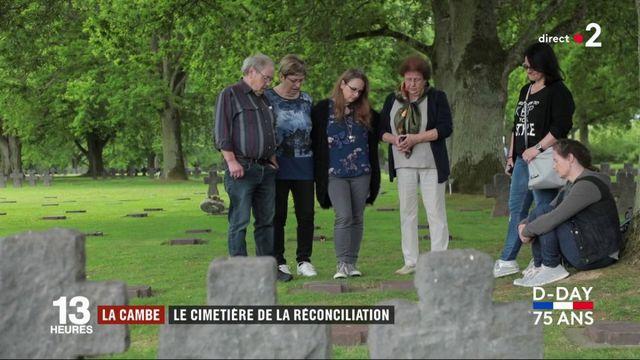 Débarquement : La Cambe, le cimetière allemand de la réconciliation