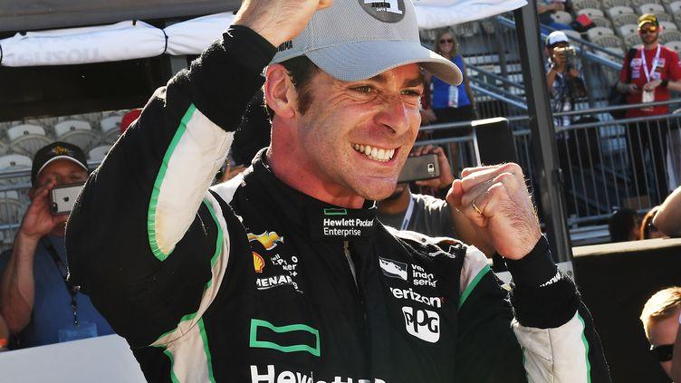 Simon Pagenaud s'est adjugé la dernière course de la saison (MARK RALSTON / AFP)