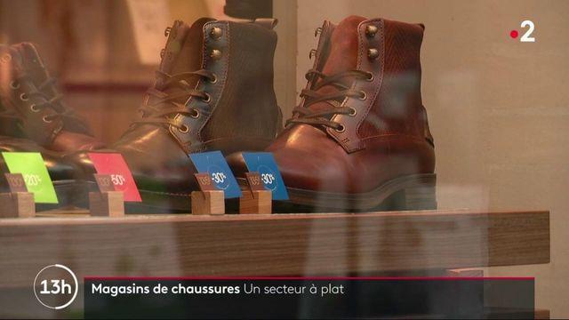 Consommation : les magasins de chaussures sont délaissés par les clients