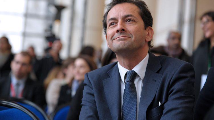 L'essayiste Hakim El Karoui, auteur d'un rapport sur l'islamisme en France et dans le monde. (ERIC PIERMONT / AFP)