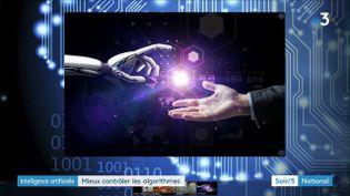 L'homme et l'intelligence artificielle vont-ils réussir à travailler main dans la main ? (France 3)
