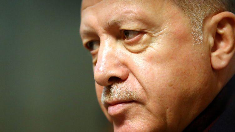 Le président turcRecep Tayyip Erdogan (photo prise le 17 décembre 2019) (REUTERS - DENIS BALIBOUSE / X90072)