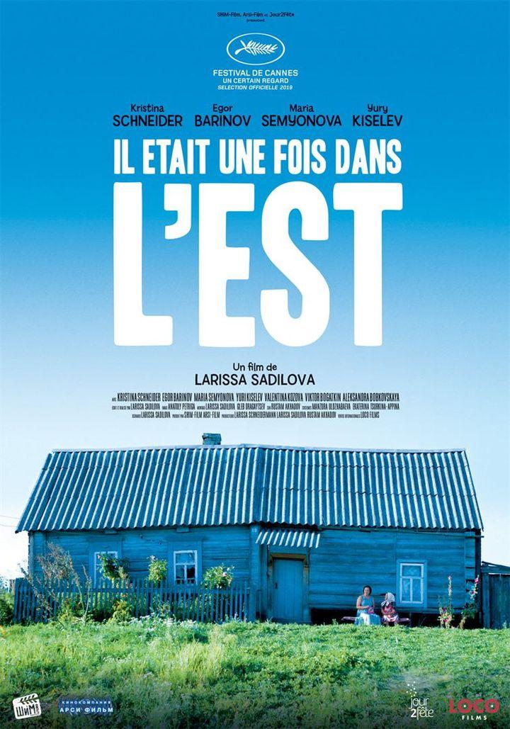 """L'affiche de """"Il était une fois dans l'Est"""" deLarissa Sadilova (Jour2fête)"""