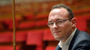 Damien Abad à l'Assemblée nationale, le 9 octobre 2012. (ERIC FEFERBERG / AFP)