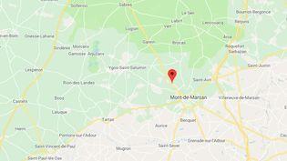 Uchacq-et-Parentis (Landes). (GOOGLE MAPS)