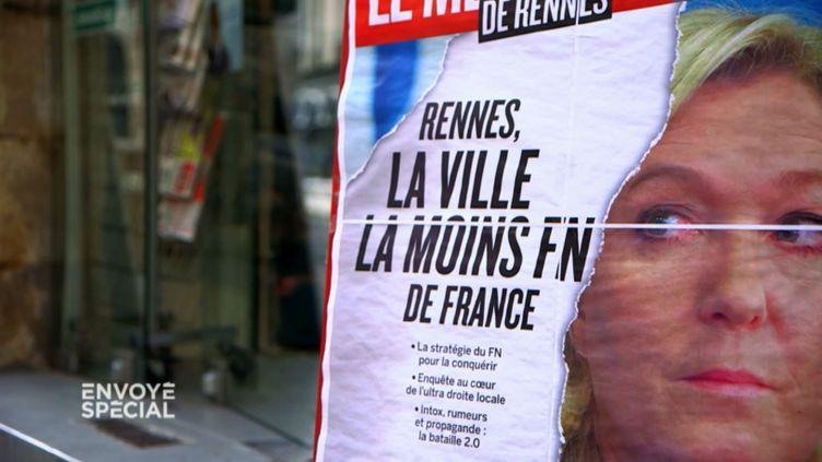FN Rennes (CAPTURE D'ÉCRAN FRANCE 2)