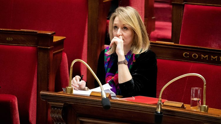 La députée de la DrômeAlice Thourot, le 5 février 2019, à l'Assemblée nationale, à Paris. (CHRISTOPHE MORIN / MAXPPP)