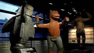 Une trentaine d'oeuvres Béninoises sont exposées au musée du Quai Branly.  (capture d'écran France 3 / Culturebox)