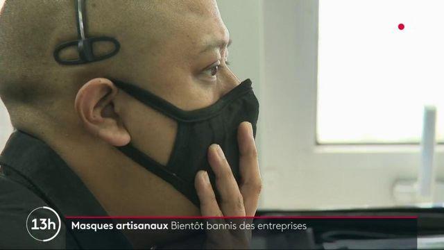 Entreprises : la fin des masques artisanaux