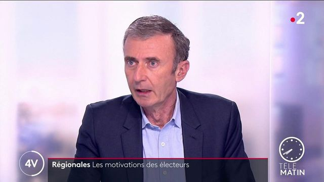 Régionales: «Si le RN obtenait une région, cela changerait la dynamique pour la présidentielle de 2022», estime Brice Teinturier