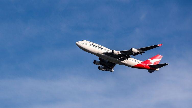 Un Boeing 747 de la compagnie Qantas, le 22 juillet 2020 à Sydney (Australie). (MAXPPP)
