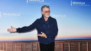 L'acteur irlando-américain Pierce Brosnan à Deauville (7 septembre 2019) (JACQUES BENAROCH/SIPA)