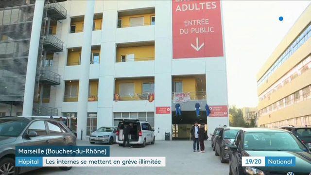 Hôpital : les internes débutent une grève illimitée