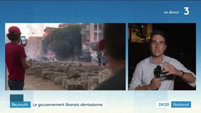 Beyrouth : le gouvernement libanais démissionne