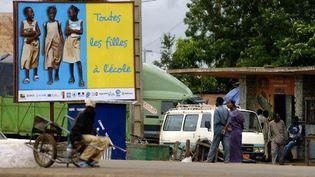 Campagne pour la promotion des filles à l'école. (AFP/PHILIPPE ROY / AURIMAGES)