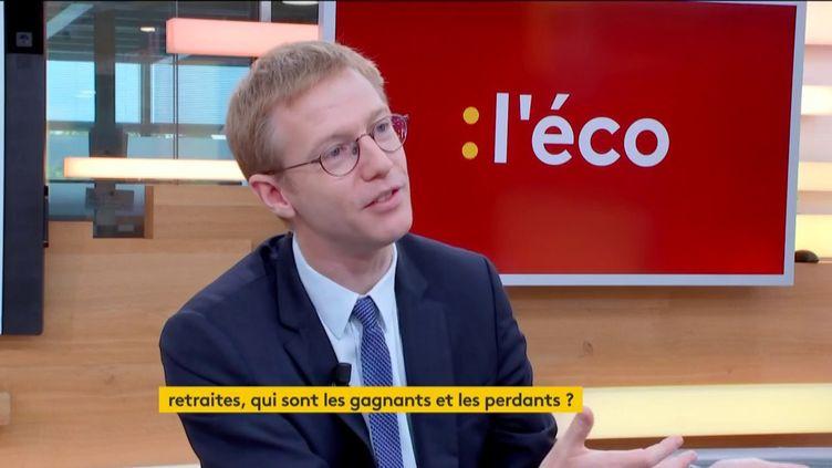 Antoine Bozio, économiste, dans :l'éco (FRANCEINFO)