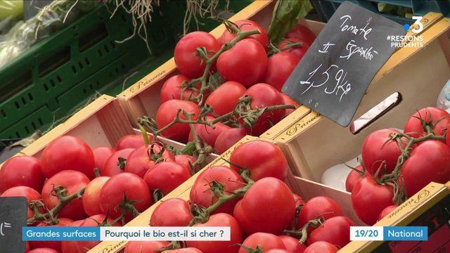 Alimentation : pourquoi les fruits et légumes bio sont-ils si coûteux ?