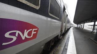 Un train est arrêté en gare d'Austerlitz, à Paris, le 4 juin 2016. (DOMINIQUE FAGET / AFP)