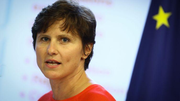 Roxana Maracineanu, ministre des Sports, le 4 septembre 2018. (FREDERIC DUGIT / MAXPPP)