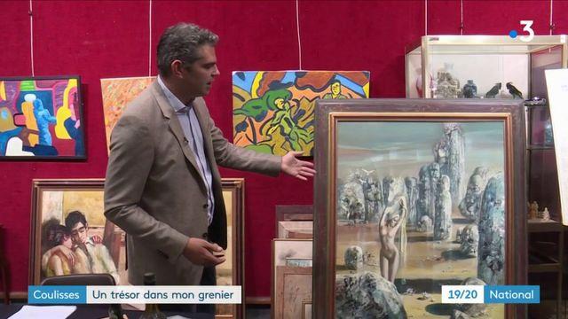 Coulisses : Les commissaires-priseurs dénichent des trésors dans les greniers
