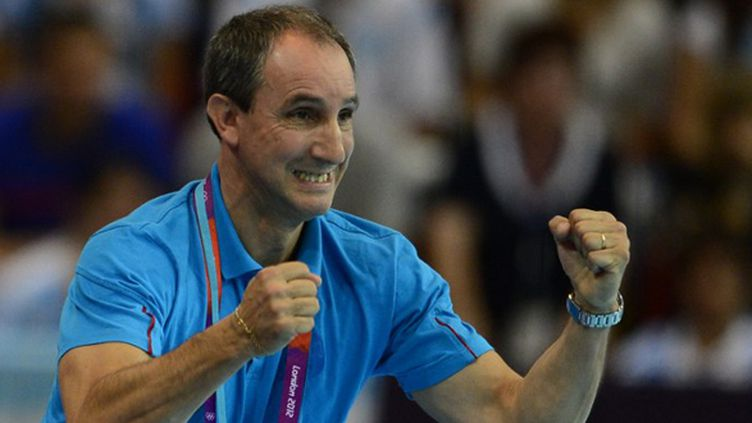 Alain Portes, le sélectionneur de l'équipe de France féminine (JAVIER SORIANO / AFP)