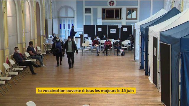 Covid-19 : la vaccination ouverte à tous les majeurs à partir du 15 juin