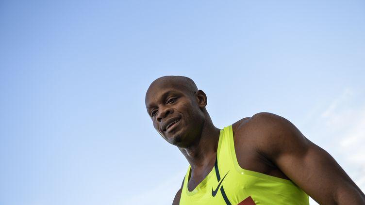 Asafa Powell (ANDREAS SOLARO / AFP)