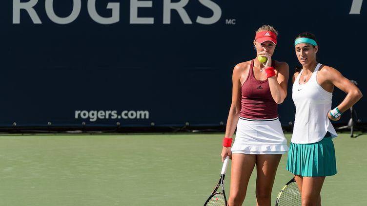 Kristina Mladenovic et Caroline Garcia sont attendues à l'US Open (MINAS PANAGIOTAKIS / GETTY IMAGES NORTH AMERICA)