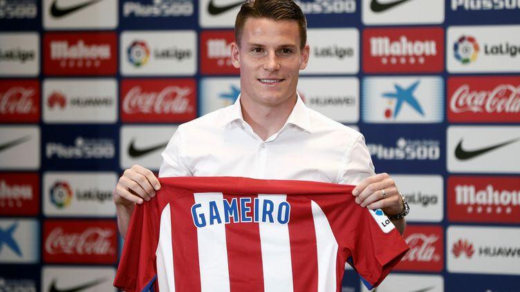 Kevin Gameiro s'est légèrement blessé, quelques jours seulement après son arrivée à l'Atlético (BURAK AKBULUT / ANADOLU AGENCY)