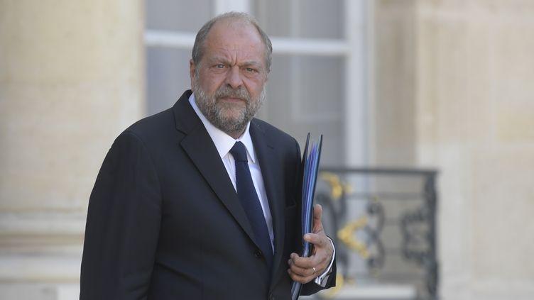 Le ministre de la Justice Eric Dupond-Moretti, mardi 7 juillet au palais de l'Elysée à Paris. (FRANCOIS PAULETTO / ANADOLU AGENCY / AFP)