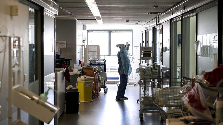 Le srvice de réanimation de l'hôpital de la Croix Rousse à Lyon, le 9 juillet 2020. (MAXIME JEGAT / MAXPPP)