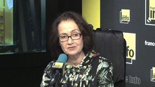 Claude Halmos, psychanalyste spécialiste de l'enfance et de la maltraitance. (RADIO FRANCE)