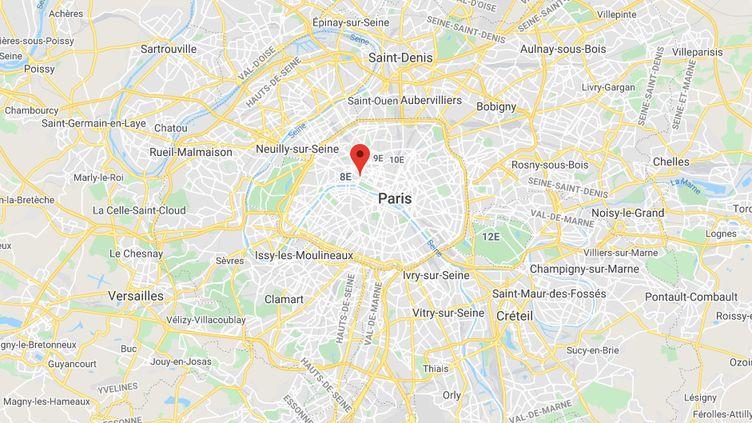 Rue Royale à Paris. (GOOGLE MAPS)