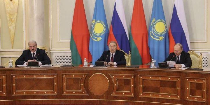 Sommet de l'Union eurasiatique à Astana, en mars 2015 (SELCUK UYSAL / ANADOLU AGENCY)