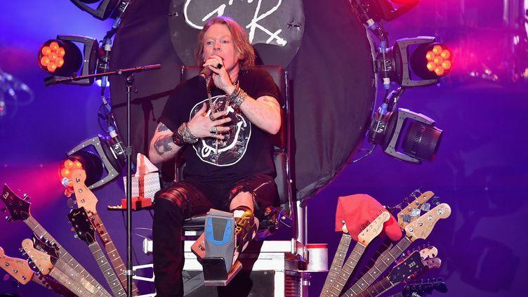 Axl Rose de Guns N'Roses au festival de Coachella (16 avril 2016)  (Kevin Winter / Getty Images North America / AFP)