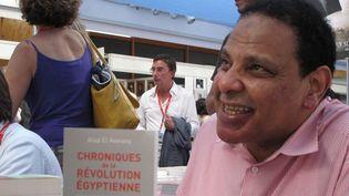L'écrivain égyptien Alaa El Aswany  (S.Jouve)