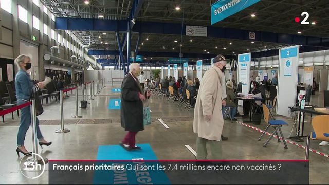 Covid-19 : 7,4 millions de Français prioritaires ne sont pas vaccinés