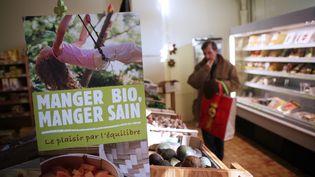 Un supermarché bio à Mont-de-Marsan (LOIC VENANCE / AFP)