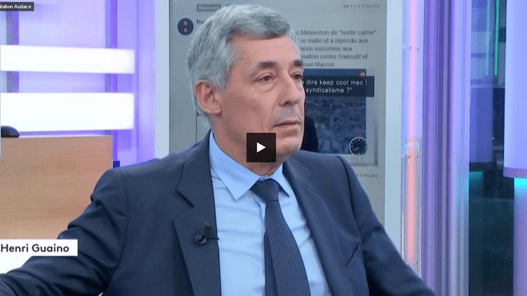 Henri Guaino (FRANCEINFO)